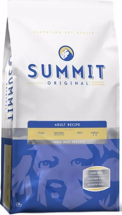 Summit Holistic Original Three Meat, Adult Recipe 10380