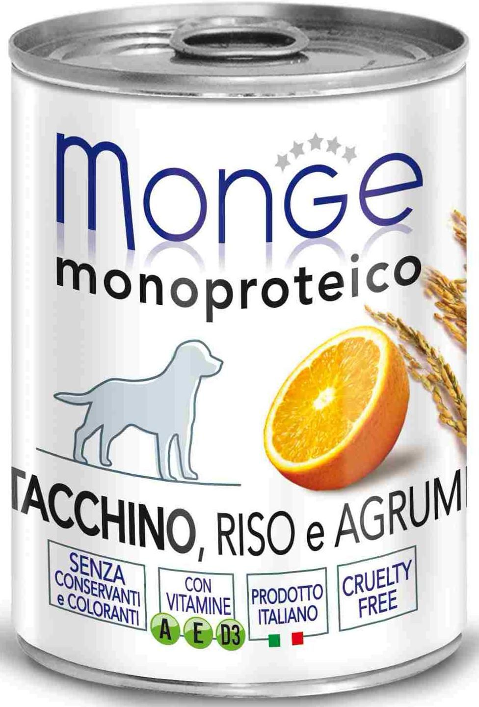 Monge Dog Monoprotein Fruits turkey 400 гр. 70014335