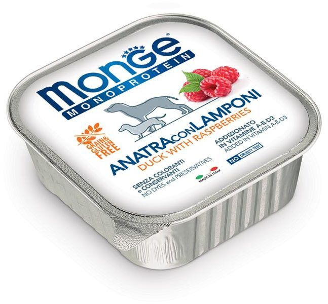 Monge Dog Monoprotein Fruits duck 150 гр. 70014342