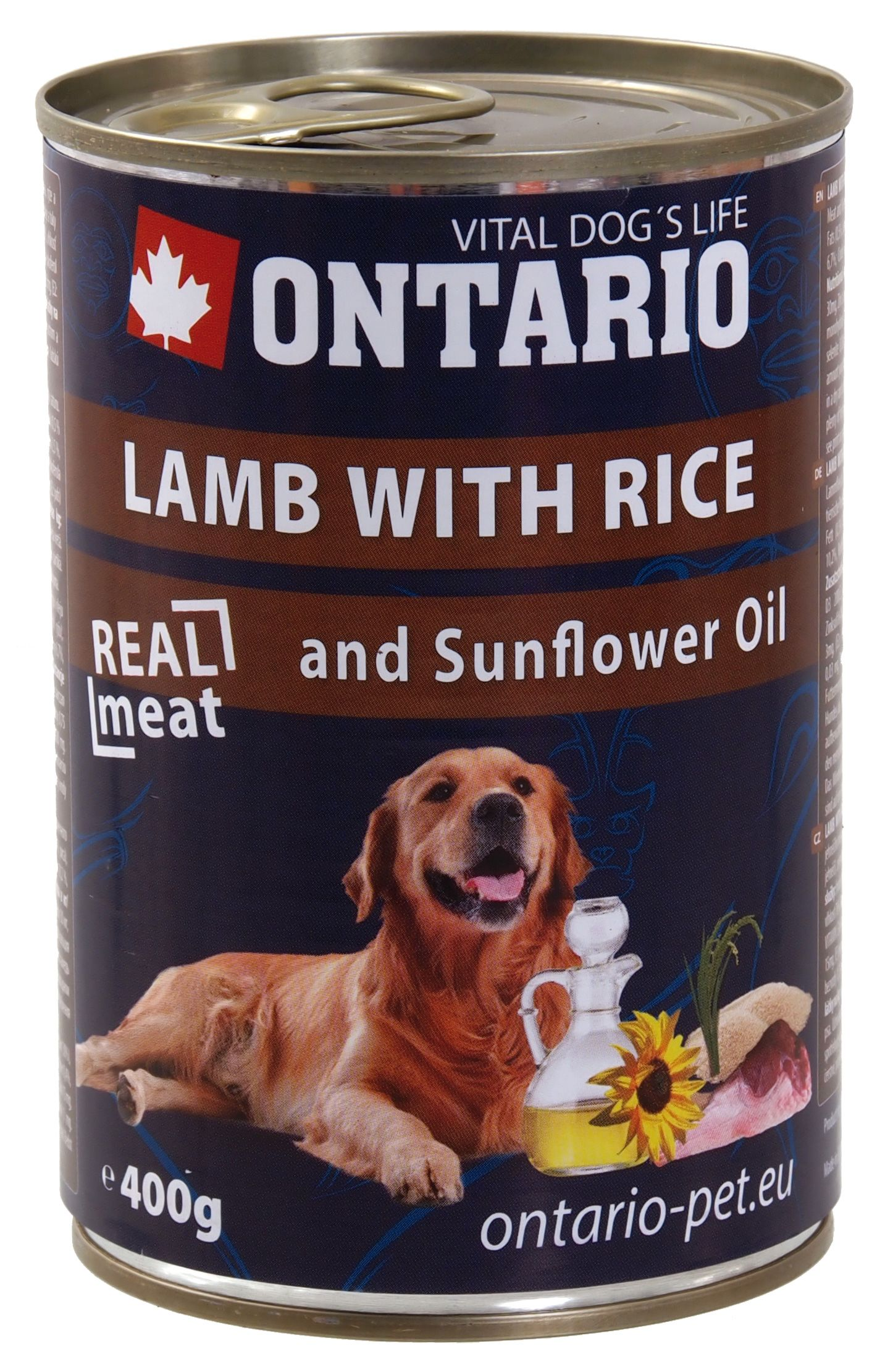 Ontario lamb with rice
