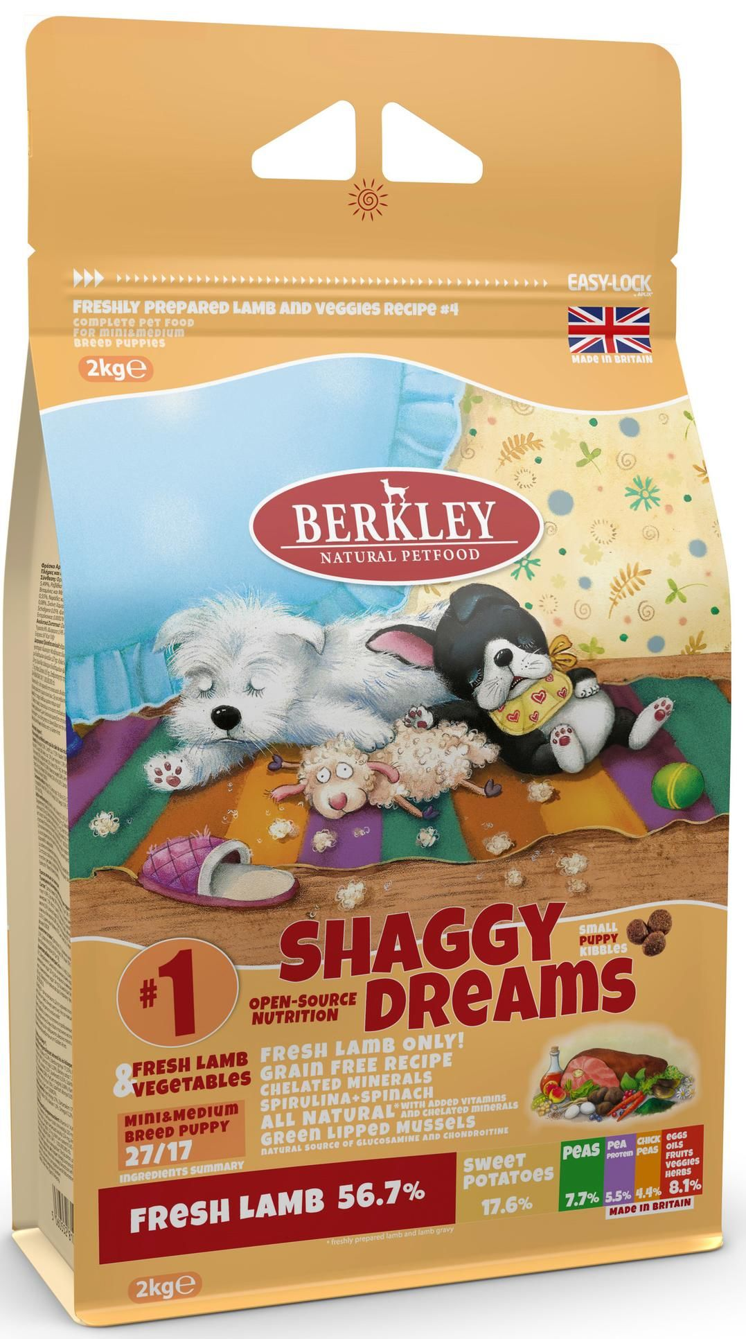 Berkley Shaggy Dreams #1