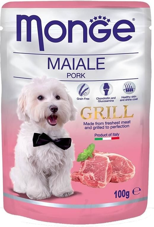 Monge Dog Grill pouch pork 100 гр. 70013147