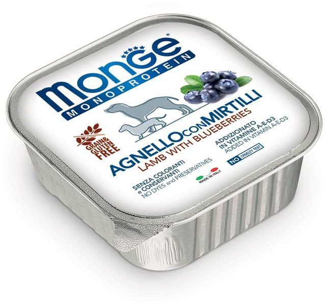 Monge Dog Monoprotein Fruits lamb 150 гр.