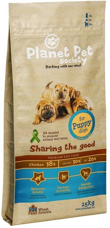 Planet Pet Chicken & Rice For Puppies