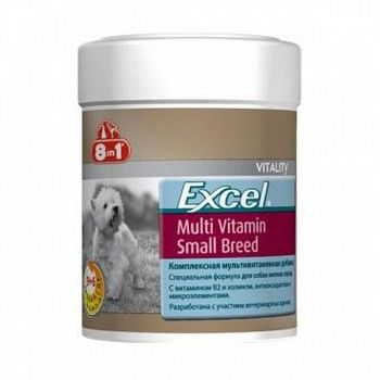 8in1 Excel Multi Vitamin Small Breed 70 таблеток 109372