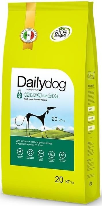 Dailydog Adult Large Breed Chicken and Rice