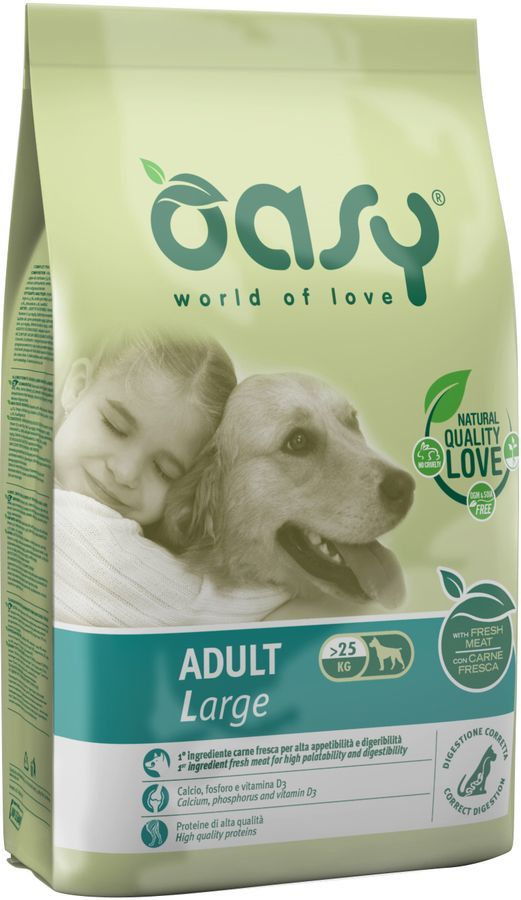 Oasy Dry Dog Adult Large Chicken