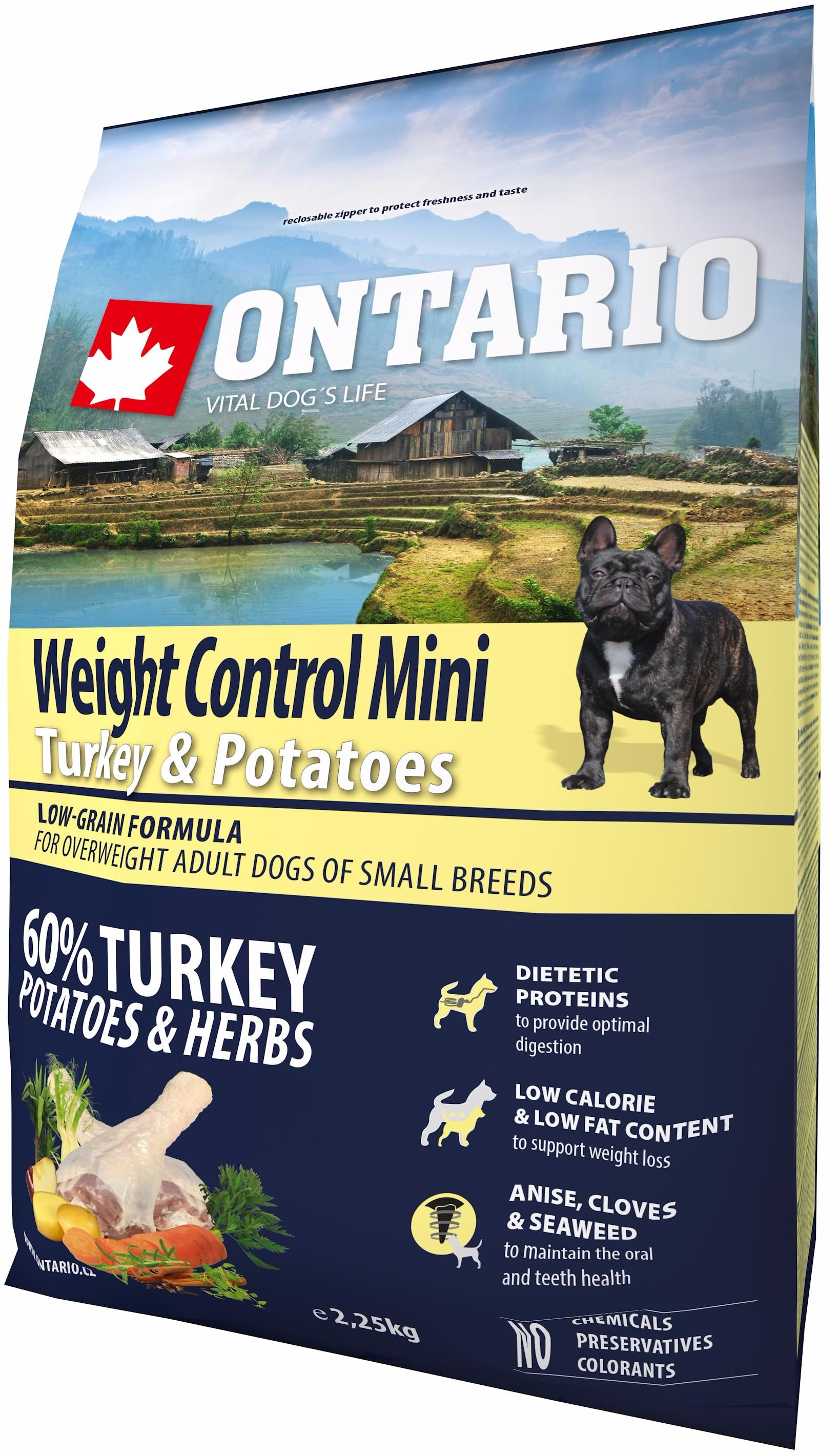 Ontario Weight Control Mini turkey & potatoes