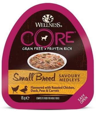 Wellness Core Small Breed Savoury Medleys 85гр. 10453