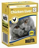 Bozita chunks in Jelly with Chicken Liver 370 гр. 36440