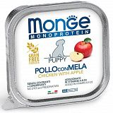 Monge Dog Monoprotein Fruits Puppy Chicken with Apple 150 гр. 70014380