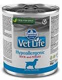 Farmina Vet Life Hypoallergenic Duck & Potato 300 гр. 1302
