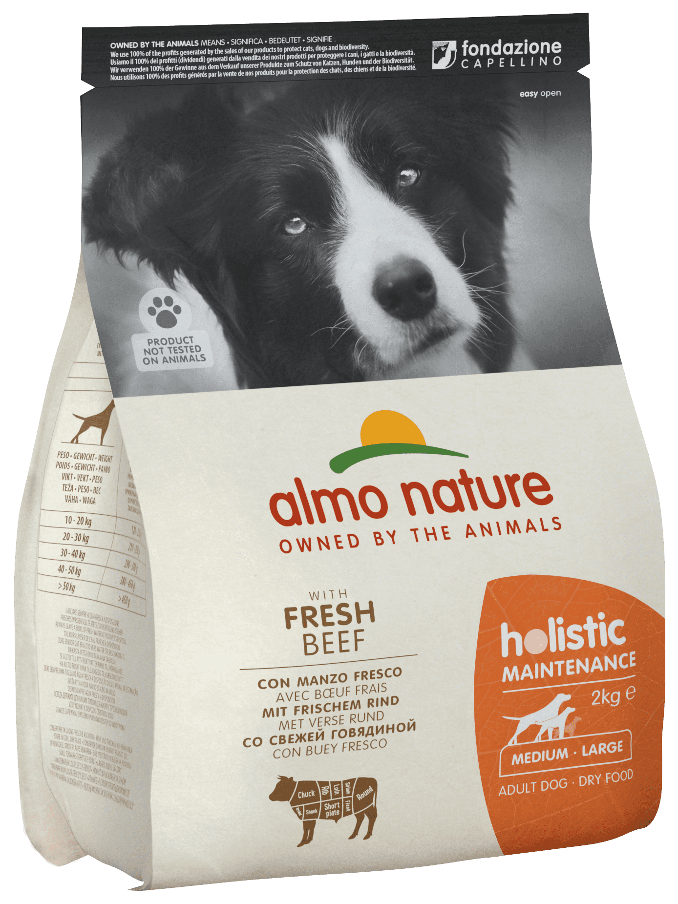 Almo Nature Medium Adult Beef and Rice Holistic