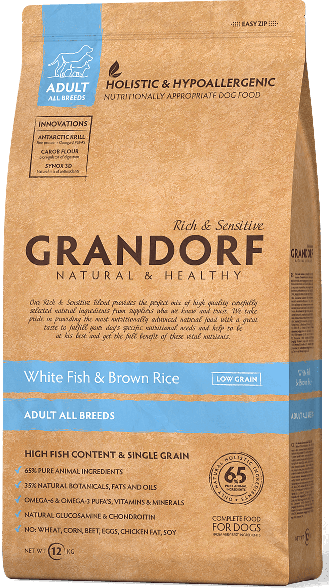 Grandorf White Fish & Rice Adult All Breeds