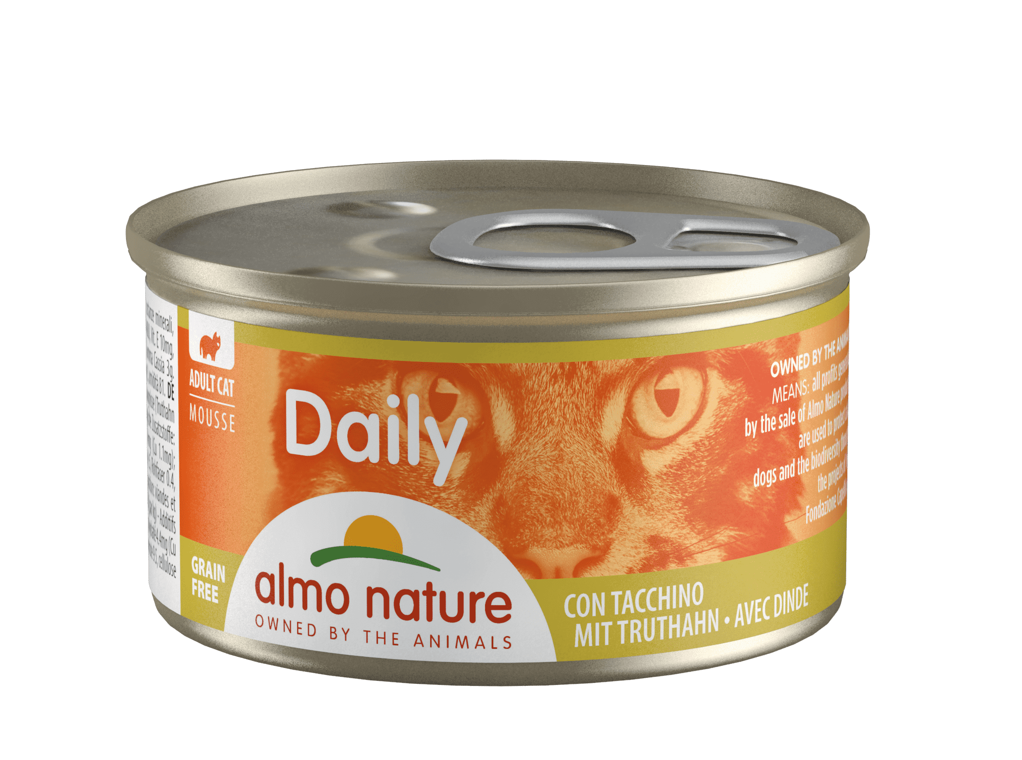 Almo Nature Daily Menu mousse Turkey 85 гр. 24067