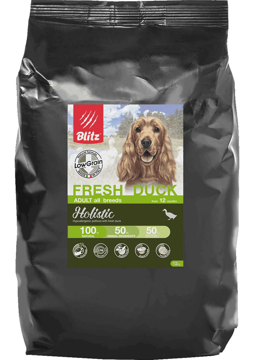 Blitz Holistic Fresh Duck All Breeds Low Grain. Фото №3