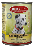 Berkley Rabbit & Oatflakes Puppy 400 гр. 12195