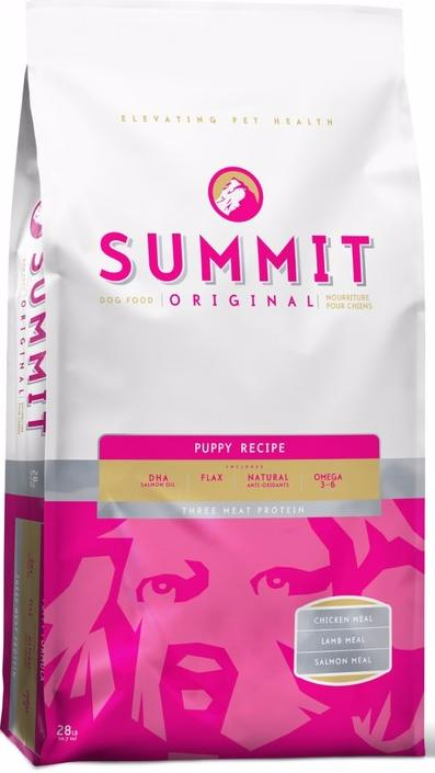 Summit Holistic Original Three Meat, Puppy Recipe