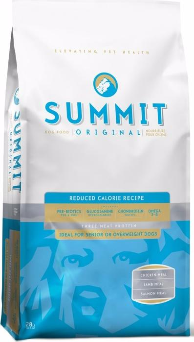 Summit Holistic Original Three Meat, Reduced Calorie Recipe