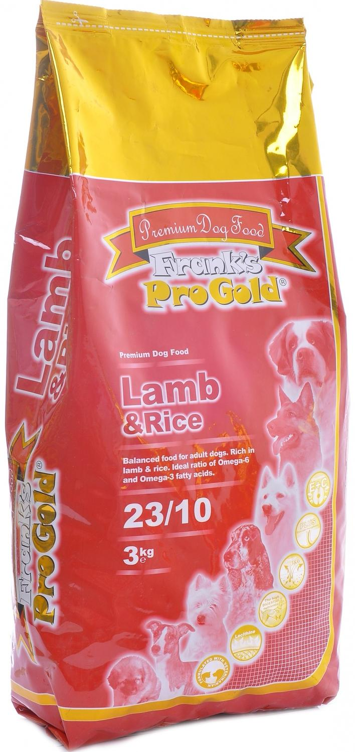 Frank's ProGold  Lamb and Rice 23/10