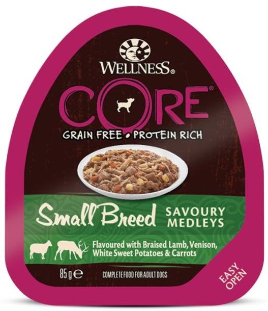 Wellness Core Small Breed Savoury Medleys 85гр. 10456