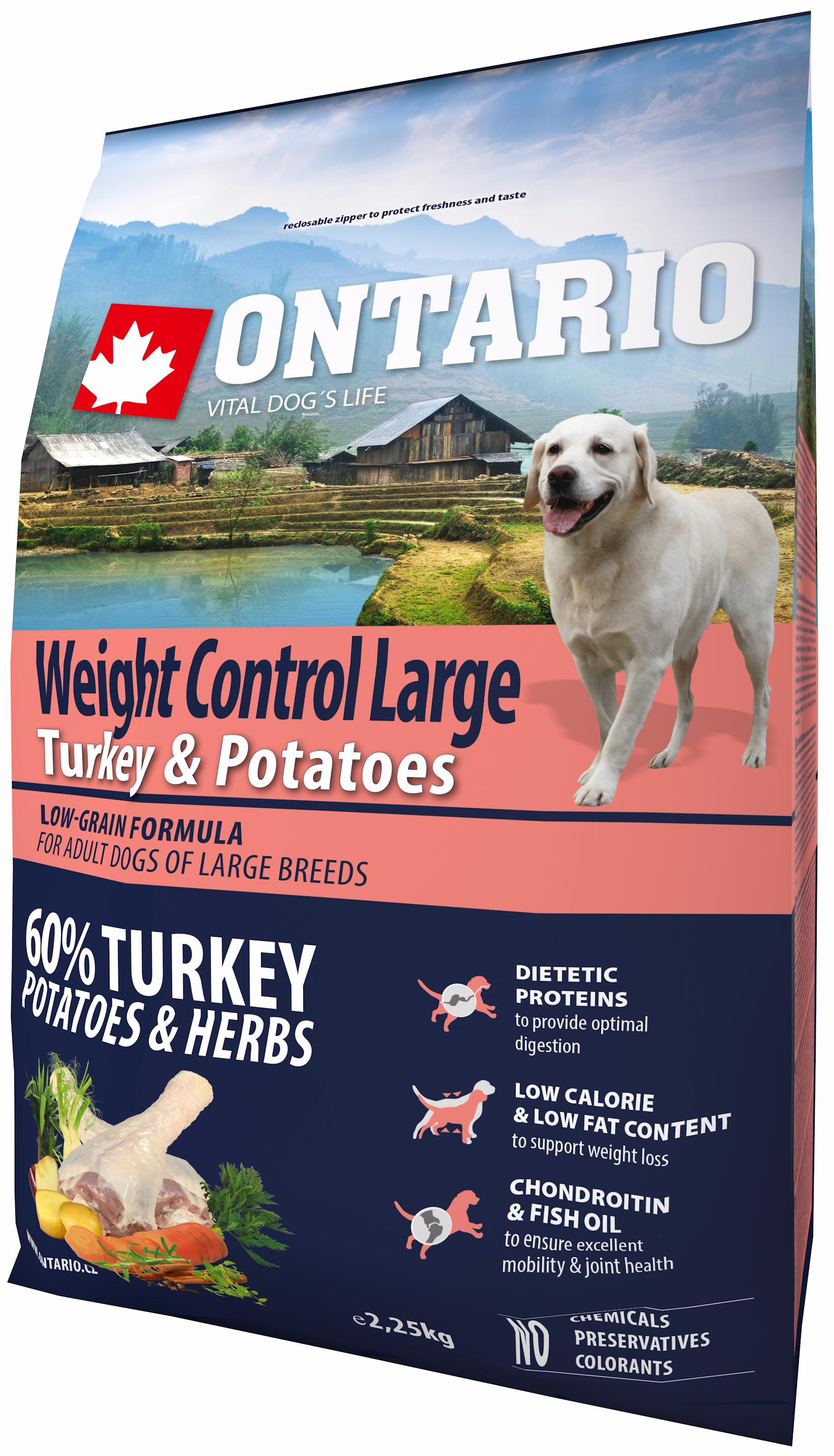 Ontario Weight Control Large turkey & potatoes