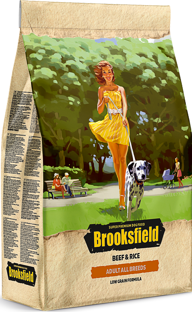 Brooksfield Adult Dog All Breeds Beef
