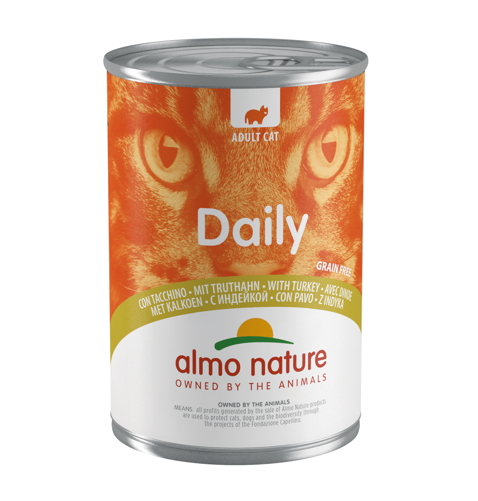 Almo Nature Daily Menu Turkey 400 гр. 24070