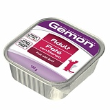 Gemon Cat Adul pate with beef 100 гр.