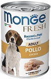 Monge Dog Fresh Chunks in Loaf Chicken 400 гр.
