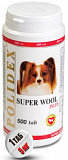 Polidex Super Wool plus 500 таб. 12955