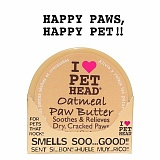 Pet Head OATMEAL Natural Paw Butter 50454