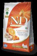 Farmina N&D Dog GF Pumpkin Codfish & Orange Adult Mini
