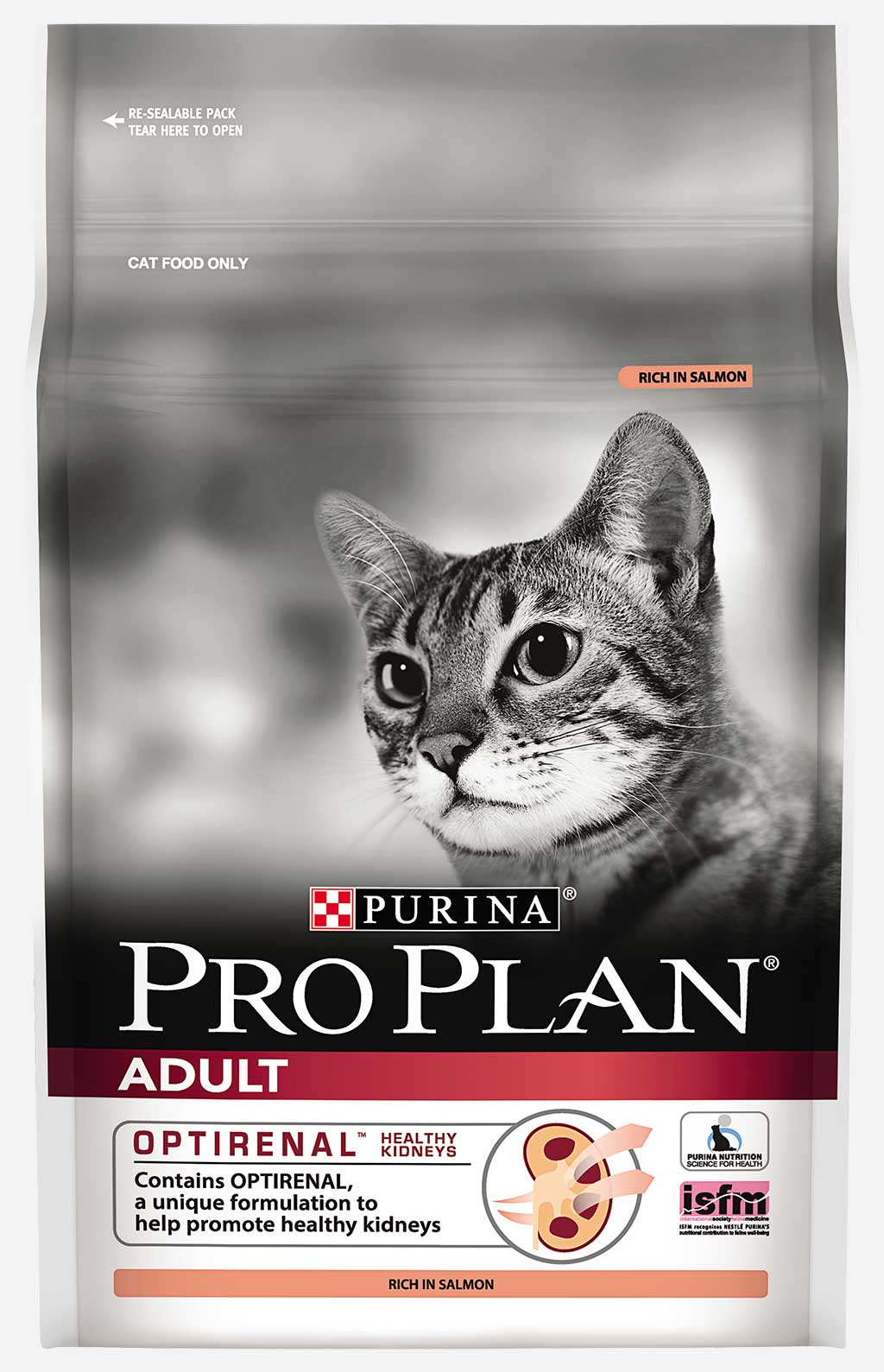Purina Pro Plan Adult feline rich in Salmon dry