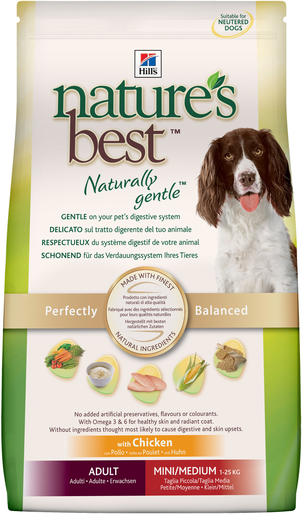 Hill's Nature's Best Canine Adult Mini Medium