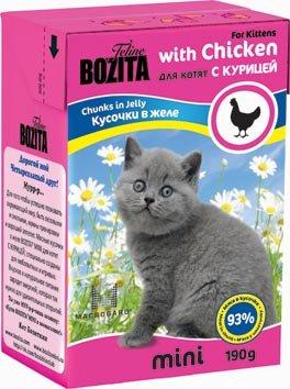 Bozita Mini Kitten 190 гр. 26458