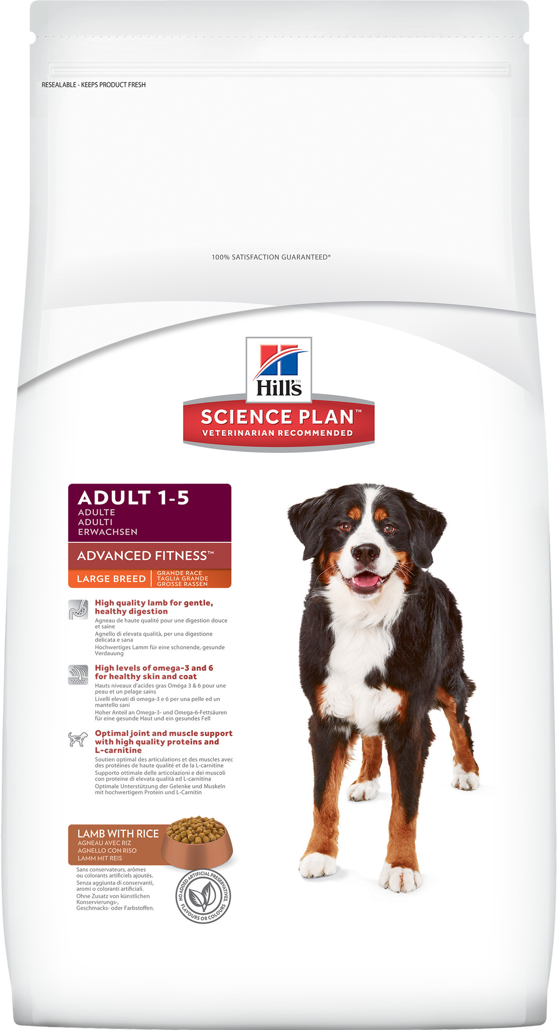 Hill's Science Plan Advanced Fitness Large Breed Lamb & Rice