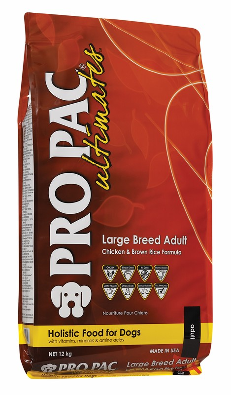 PRO PAC Ultimates Large Breed Adult with Chicken Meal & Brown Rice