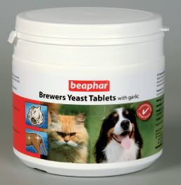 BEAPHAR Brewers Yeast Tablets With Garlic
