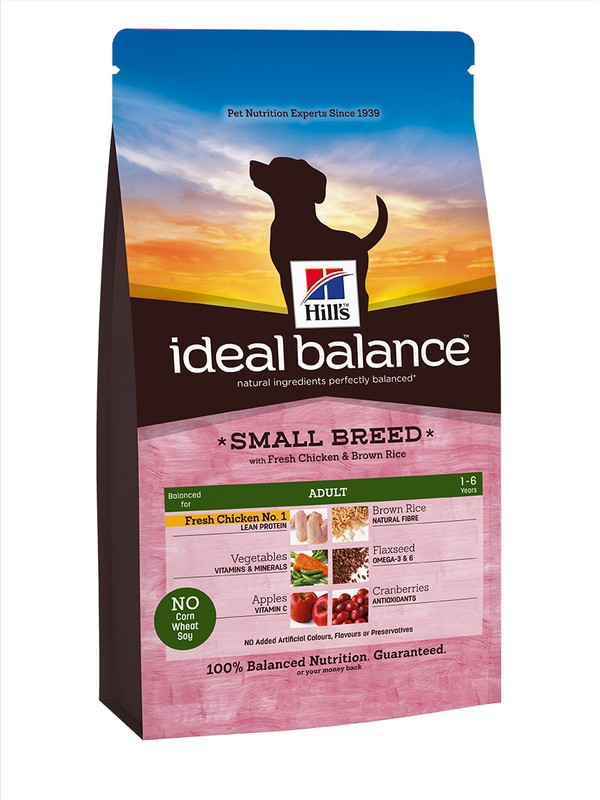 Hills Ideal Balance Adult Small Chicken & Rice