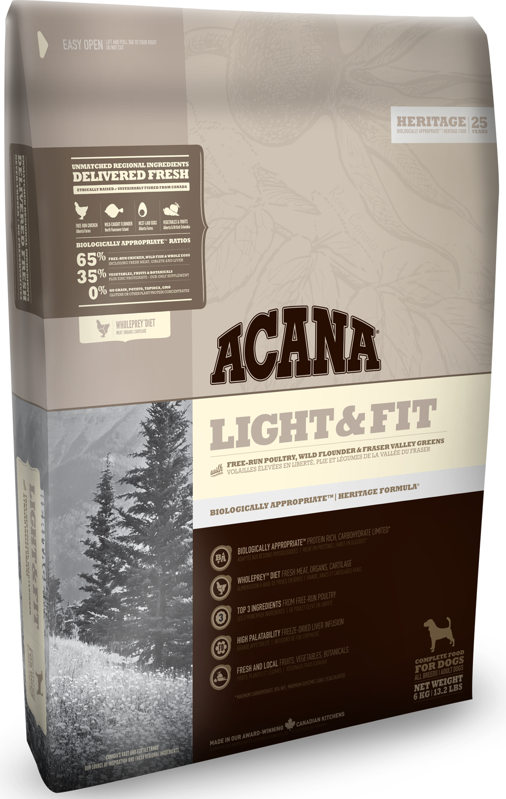 ACANA HERITAGE Light & Fit