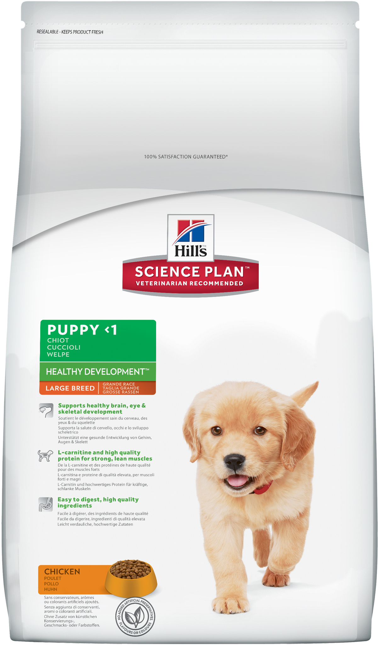 Hill's Science Plan Puppy Large Breed Healthy Development