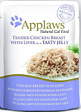 Applaws cat pouch chicken with liver in jelly 70 гр. 24367