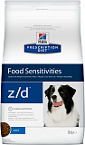 Hill's Prescription Diet z/d Food Sensitivities dog