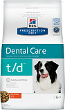 Hill's Prescription Diet t/d Dental Care dog