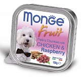 Monge Dog Fruit chicken and raspberry 100 гр.
