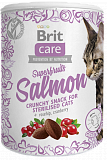 Brit Care Cat Snack Superfruits Salmon 100 гр.