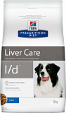 Hill's Prescription Diet l/d Liver Care dog