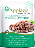 Applaws Cat pouch tuna wholemeat with mackerel in jelly 70 гр. 24371