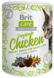 Brit Care Cat Snack Superfruits Chicken 100 гр.